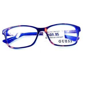 Guess Eyeglass Frames NWT 2538 BLU MULTI/052